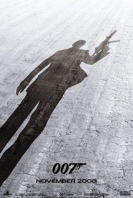 007量子危機 (Quantum of Solace) - 美國原版雙面電影海報 (2008年預告版)