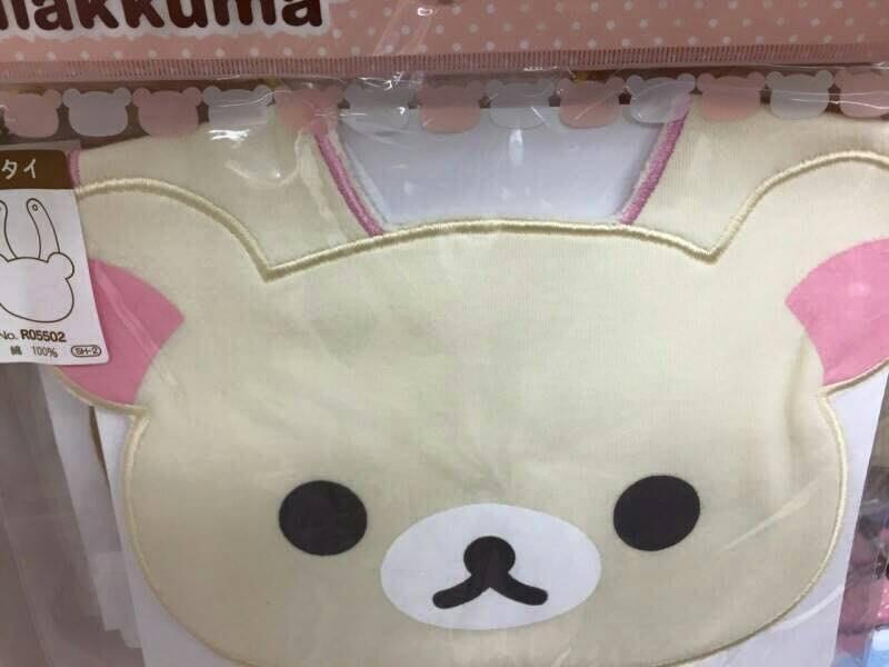 ☆Joan☆日本帶回♥Rilakkuma  懶懶熊拉拉熊圍兜兜