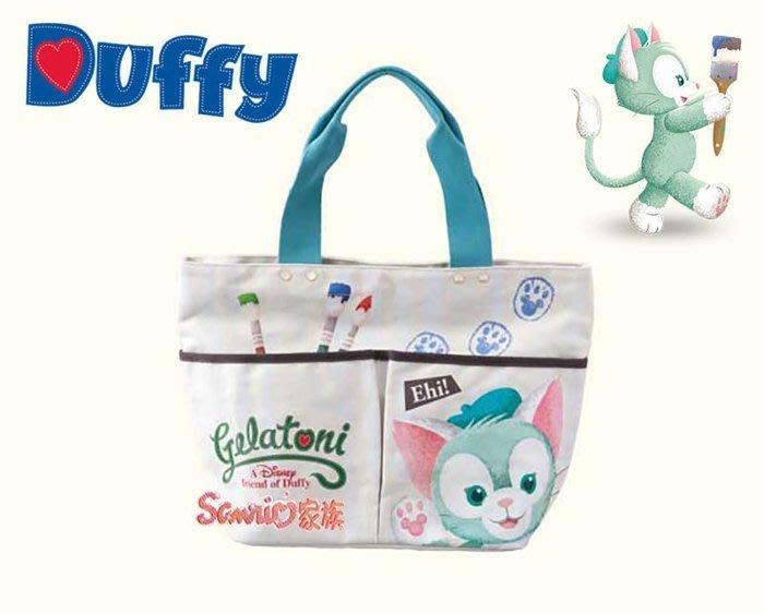 《東京家族》日本東京迪士尼Disney 限定 達菲熊 傑拉東尼托特包手提包手提袋