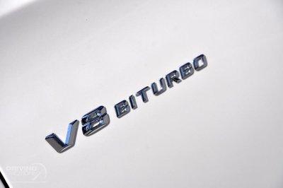~圓夢工廠~ Benz 賓士 2016~on V8 BITURBO 葉子板鍍鉻銀字貼 字體同原廠款式 2PC/SET