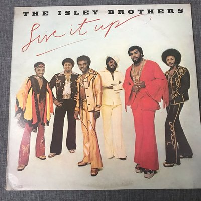 The Isley Brothers – Live It Up  1974年 日版