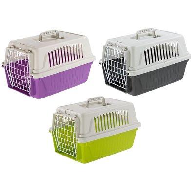 【優比寵物】義大利飛寶Ferplast ATLAS 5 【5型】運輸籠/提籠/外出籠/寵物籠/手提籠/飛機籠四面通風促銷