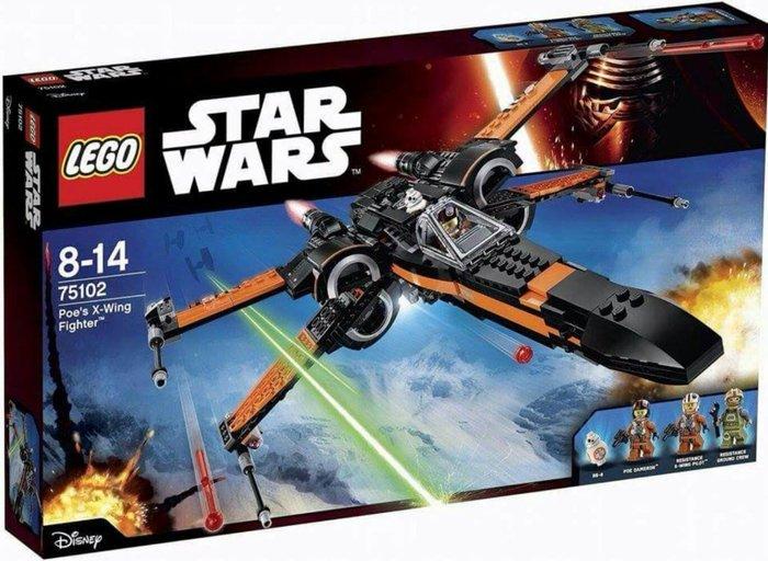 免運可超取【LEGO 樂高 】全新正品 益智玩具 積木/Star Wars星際大戰: 原力覺醒 X-戰機 75102