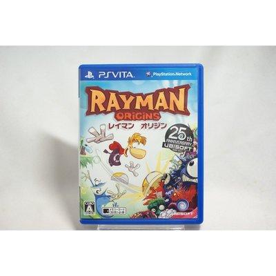 [耀西]二手 純日版 SONY PSV 雷射超人:起源 Rayman Origins 含稅附發票