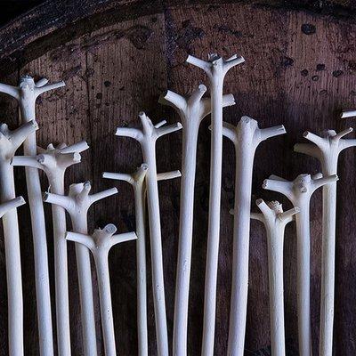 小小雜貨鋪-加勒比海天然木攪拌棒 調酒攪棒Swizzle stick熱銷# 免運# 百貨