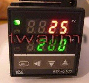 RKC REX-C100/XMTG-4811(隨機出貨)溫度控制器溫控器100V~240V SSR輸出(C100-SSR
