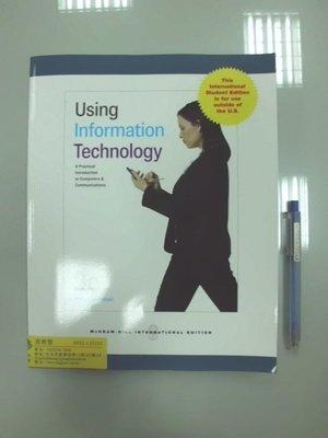 6980銤:A12-5cd☆2010年『Using Information Technology 9/e』《MGH》