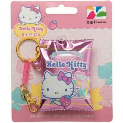 Hello kitty軟糖悠遊卡 造型糖果悠遊卡 現貨 💓 軟糖