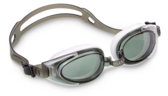 [衣林時尚] INTEX 泳鏡 蛙鏡  建議14歲以上 成人可用 (防霧抗UV) 55685
