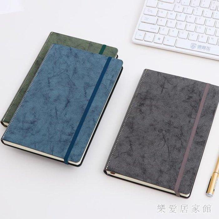 [夏不為利]A5厚精裝本綁帶硬面筆記本小清新商務記事本 【格調】