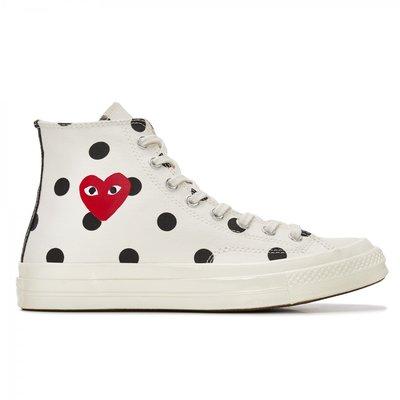 【日貨代購CITY】 川久保玲 Converse Polka Dot Chuck Taylor High 點點 帆布鞋
