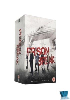 外貿影音 高清原版美劇DVD 越獄 1-5季完整版 25碟 Prison Break 珍藏版