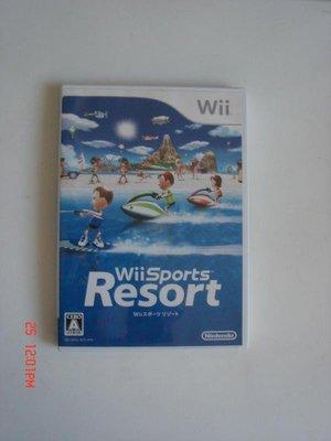 Wii 度假勝地 渡假勝地 日文版 Wii Sports Resort 運動(此片需要動感強化器才能玩)