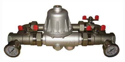 [寶閥精密] 台製 家用自來水減壓閥旁通式-不銹鋼 DN25 (1吋 / 8分) 穩壓減壓 大流量可自行調壓式