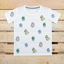 Carefree 童裝 純棉【小怪獸】兒童T恤 短袖  夏裝 竹節棉 透氣 吸汗 兒童 夏季