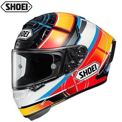 偉業 日本shoei x14招財貓紅螞蟻摩托車頭盔機車四季騎行X14全盔機車頭盔