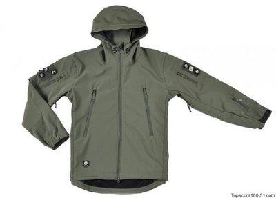 全新 TAD 鯊魚皮 潛行者軟殼 V4.0第四代綠色 戰術防寒透氣外套