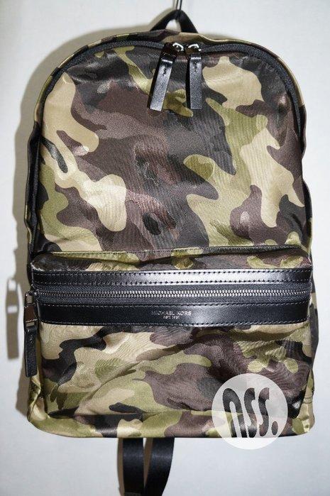 特價「NSS』michael kors Kent Camouflage Backpack 迷彩 後背包