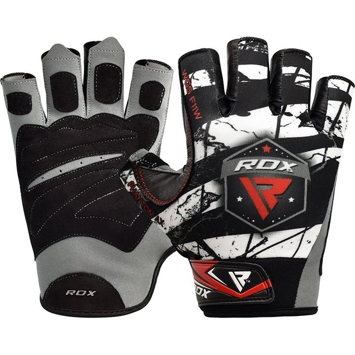 【線上體育】RDX GYM GLOVES SUMBLIMATION F11 WHITE RDX013