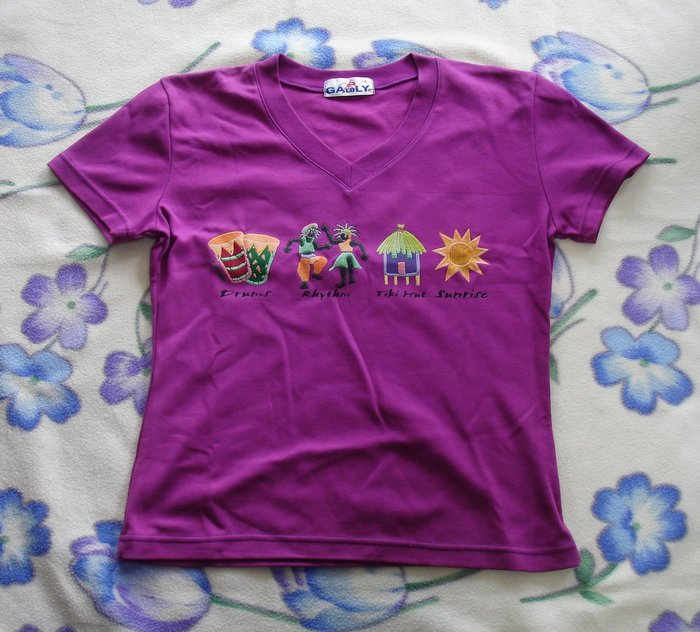 T恤-熱帶風情-加路立Galuly 短T恤--DSC03414