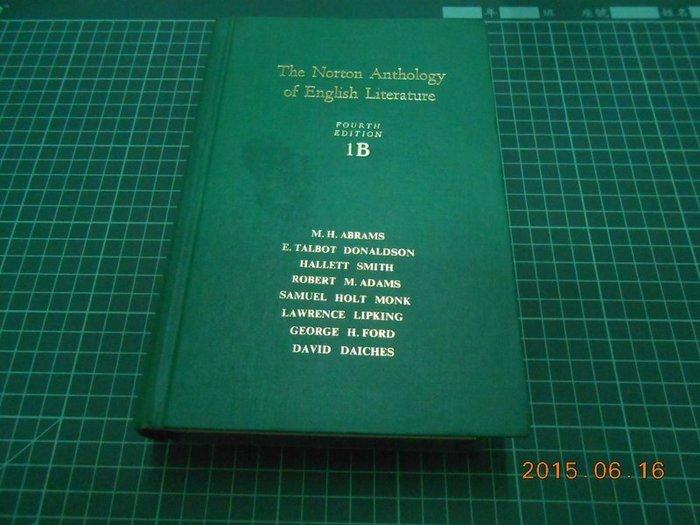 《The Norton Anthology of English Literature》Fourth Edition