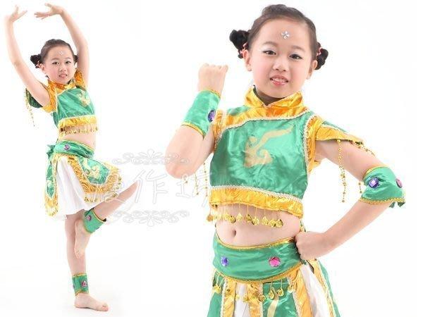 ~優作坊~ 款T08_兒童舞蹈表演套裝、兒童古裝、兒童民族舞蹈、兒童功夫裝、三太子扮演