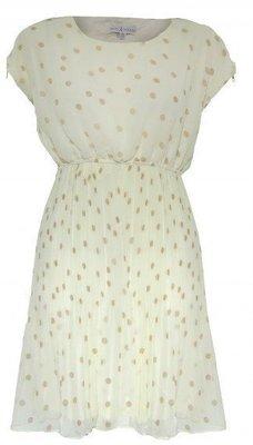 現貨UK8 英國品牌Rare 雪紡圓點洋裝 正品代購