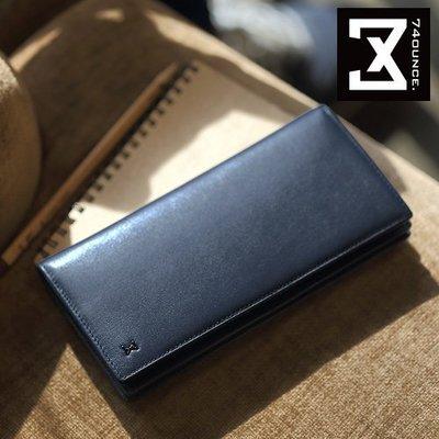 MARU`S BAGS SHOP 獨家自有品牌Plain 平紋系列真皮長夾 [N-466]