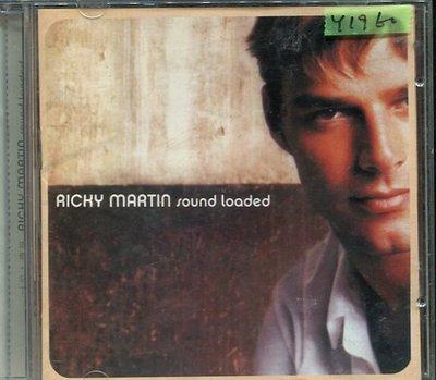 *還有唱片行* RICKY MARTIN / SOUND LOADED 二手 Y1960