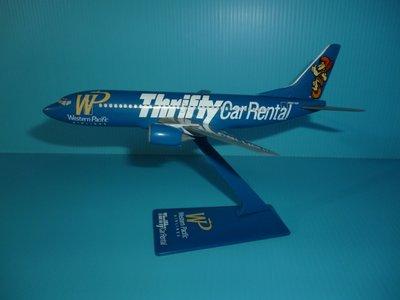 珍上飛模型飛機:B737-300(1:200) 美太平洋thrifty car(彩繪機)(編號:B737339)