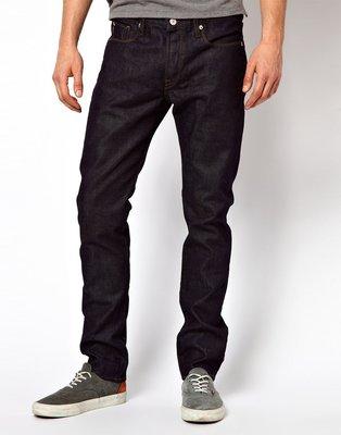 全新 Paul Smith Jeans Rinse Wash Tapered Jeans 藍 W32/L32