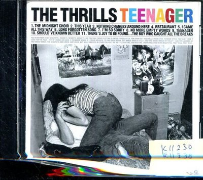 *真音樂* THE THRILLS / TEENAGER 二手 K11230(下標賣1)