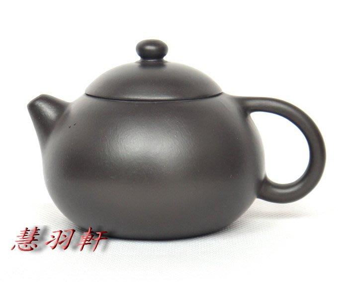 慧羽軒-(外貿局專用章)1968年黑朱泥倒把西施壺~200c.c.