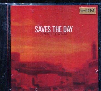 *還有唱片三館* SAVES THE DAY / SOUND THE ALARM 二手 ZZ0165 (封面底破)