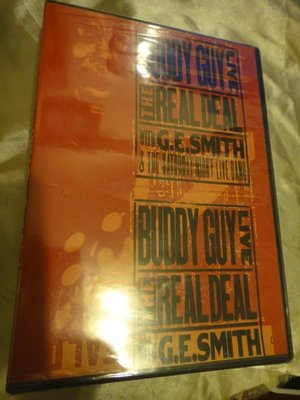 Buddy Guy 巴弟蓋 -- Live! The Real Deal with G.E. Smith 藍調之夜 全新