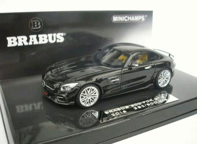MERCEDES- BENZ AMG GTS  2016 BRABUS 600 AUF BASIS MODEL 1/43MINICHAMPS