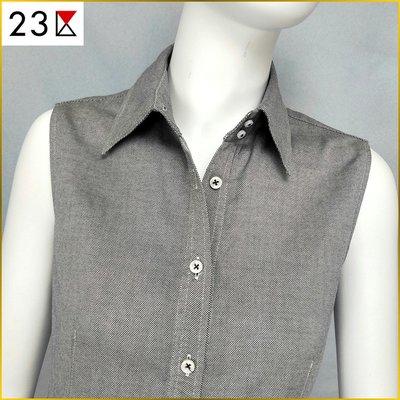 🇯🇵日本二手衣✈️襯衫 23区 女 40号 無袖襯衫 修身款 襯衫 ONWARD樫山 23區 A0251O