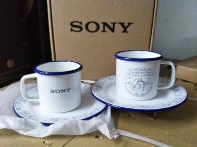 《特價》Sony  琺瑯杯盤組