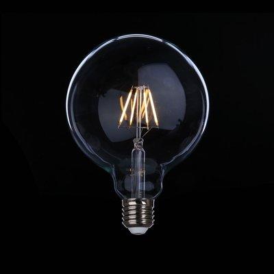 DL燈泡博士💡 G125愛迪生LED燈泡4W 復古裝飾龍珠奶白燈泡E27全電壓周光黃光暖白光億光旭光舞光棧咖啡西餐客廳