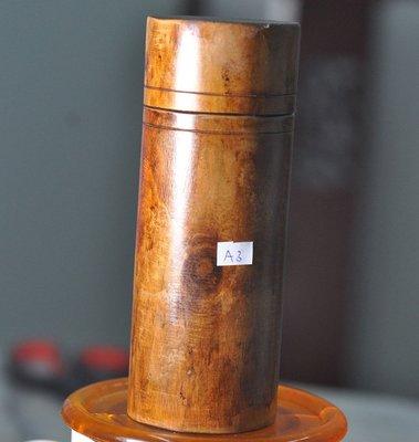 宋家苦茶油vhuntanbox.A3越南黃老虎奇楠製成香罐.可生財運.當作聞香瓶.盛裝斷的臥香.當作筆筒也行