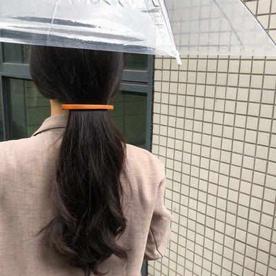 髮夾髮箍邊夾發卡髮圈ins網紅復古一字夾女韓國個性簡約百搭原木邊夾頂夾卡子發飾