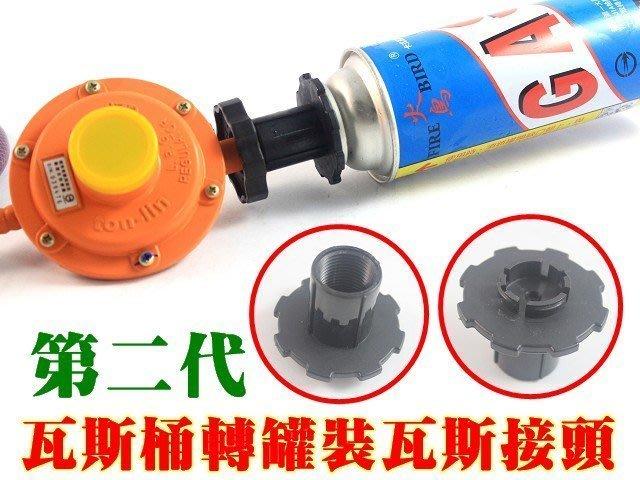 廚房大師-瓦斯桶轉瓦斯罐接頭 專用單口爐 瓦斯爐 登山爐 火鍋爐 快速爐 瓦斯轉接頭
