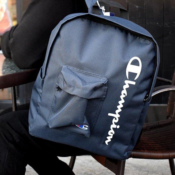 創意 旅行必備 日本正品champion冠軍雙肩包潮牌學生書包男女情侶款旅行背包帆布
