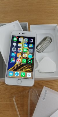 90% apple iphone 6s 64gb 64g 4G silver 銀色 電話 zp機 香港行貨 女仔機