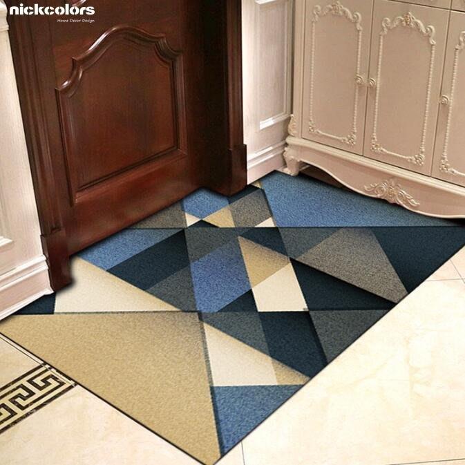 尼克卡樂斯 ~北歐風時尚幾何地毯(多種尺寸) 防滑地墊 客廳地毯 臥室地毯 服飾店地毯 咖啡廳地毯