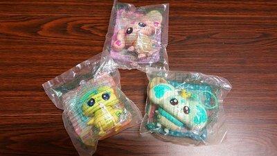 麥當勞2004年玩具3入(未拆封)直購價180元