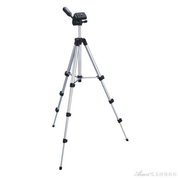 輕便攜數碼照相機微單三腳架手機拍照自拍支架攝像三角架 送夾子