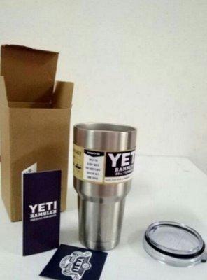 現貨 304不銹鋼 雙層真空長效保冷保溫冰霸杯啤酒杯隨身杯冰酷杯酷冰杯30oz YETI