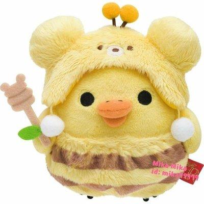 ☆Mika☆ 日本正版 RILAKKUMA 懶懶熊 拉拉熊 小雞 娃娃 玩偶 (S) 690含運~