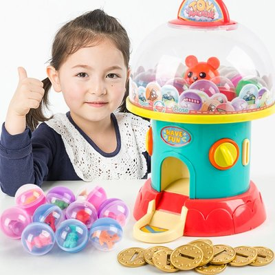 遊戲機迷你糖果扭蛋機小型投幣游戲家用游藝機兒童過家家女孩5玩具6網紅